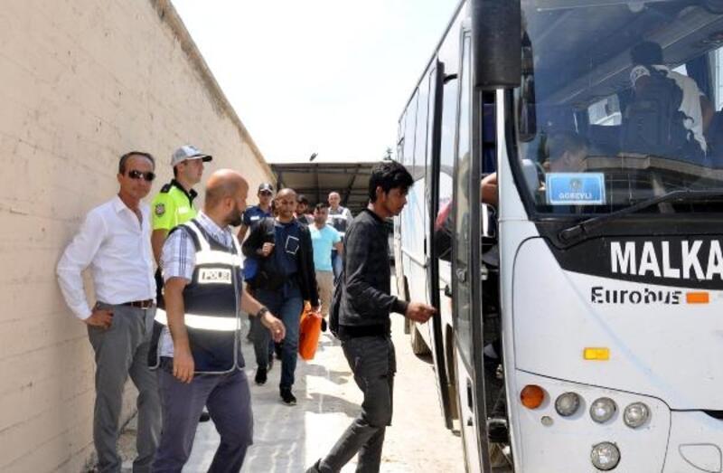Malkara'da 8 göçmen yakalandı, 1 organizatör tutuklandı