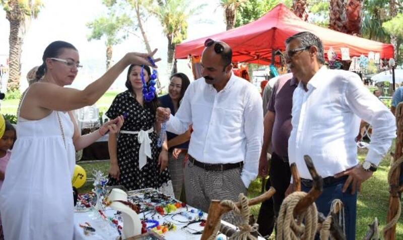 Başkan Topaloğlu, El İşi Festivali'nde