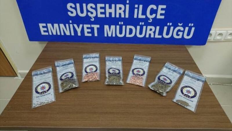 Sivas'ta uyuşturucu madde operasyonu: 3 kadın tutuklandı