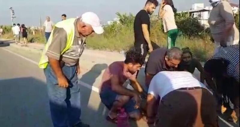 Otomobilin çarptığı çocuk öldü