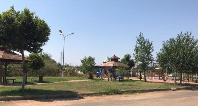 Kepez'de park çalışmaları