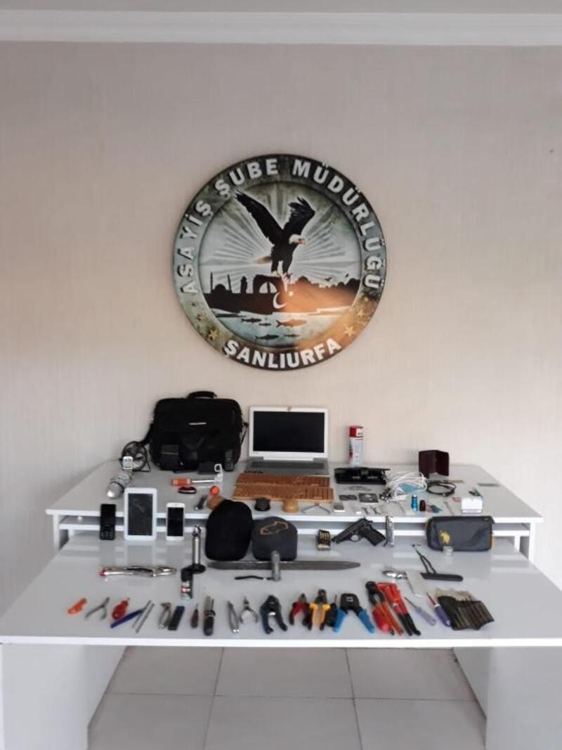Şanlıurfa'da 23 hırsızlık olayının şüphelisi yakalandı