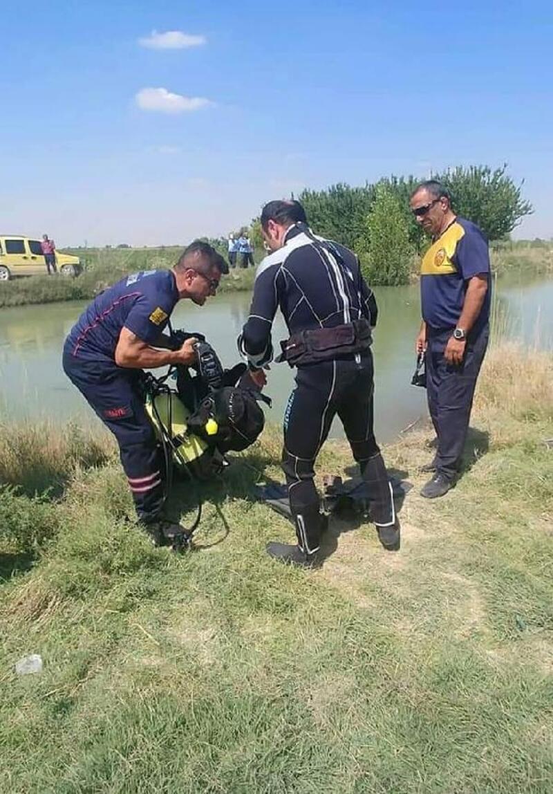 Sulama kanalına giren Afgan genç boğuldu