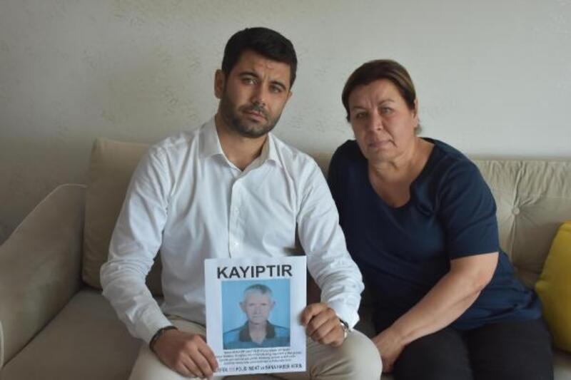 55 gündür kayıp olan eşini arıyor