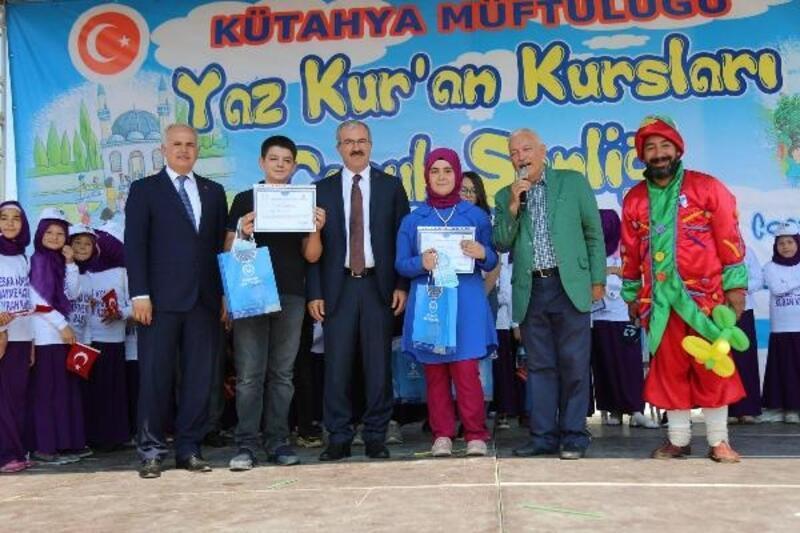 Kütahya'da Yaz Kuran Kursları Şenliği