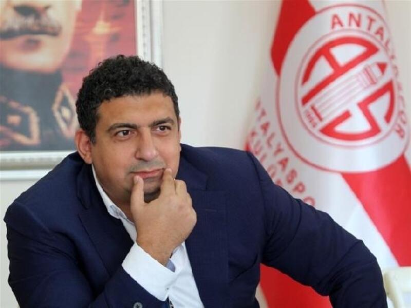 Antalyaspor Başkanı Ali Şafak Öztürk: Hedefimiz Avrupa kupalarına katılmak