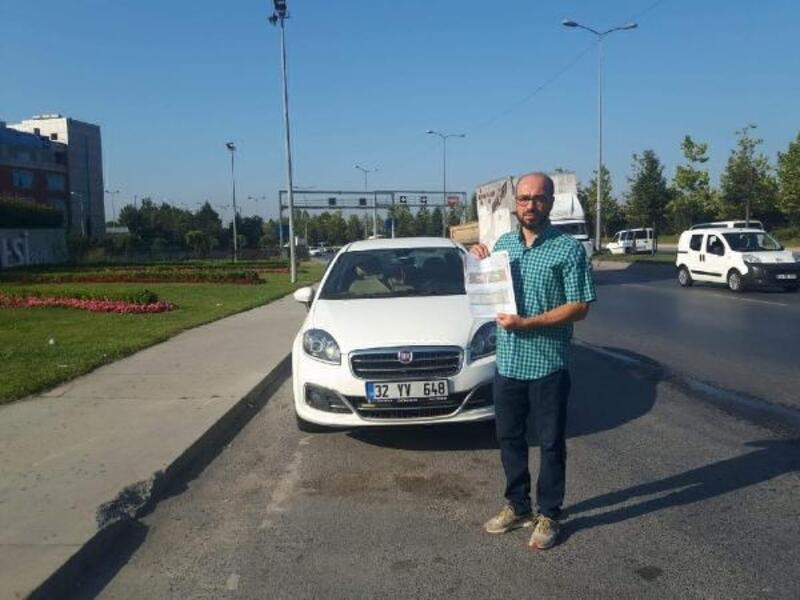 Hız limiti 230'u geçmeyen aracına '400 km hız' yaptı cezası kesilince şaşkına döndü
