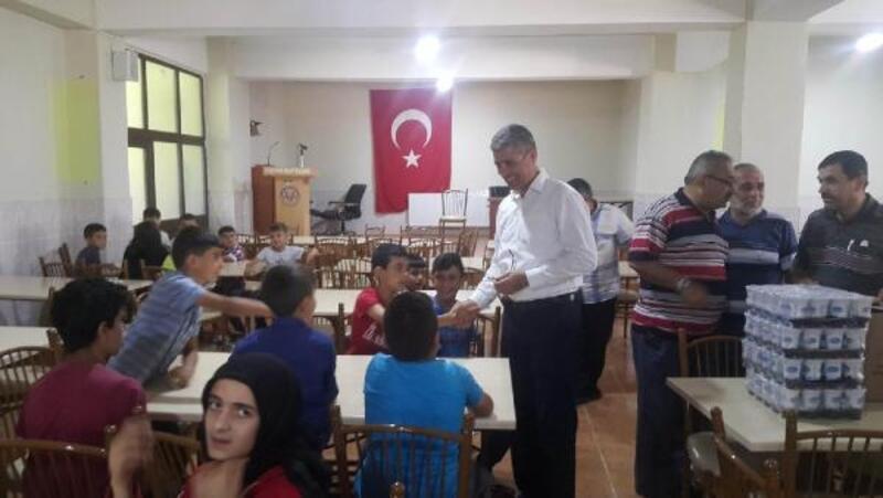 Başkan Yüksel'den, Kuran kurslarına ziyaret