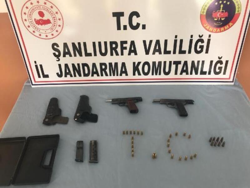 Şanlıurfa'da silah kaçakçılığı operasyonu: 1 gözaltı