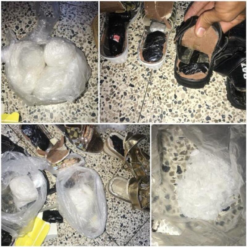 İran sınırında Afganistan uyruklu 2 kişi, uyuşturucuyla yakalandı