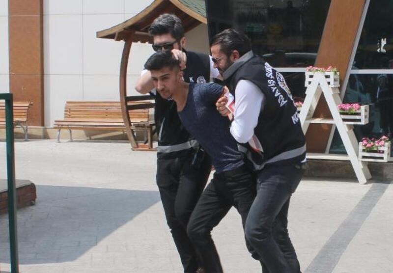 40 saniyede 80 bin TL'lik telefon çaldılar, İstanbul'da yakalandılar