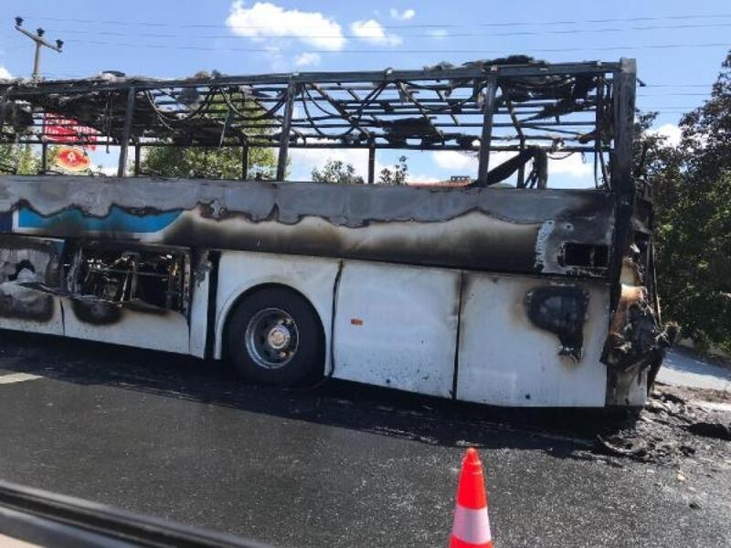 Balıkesir'de yolcu otobüsünde yangın çıktı: Ölü ve yarılar var