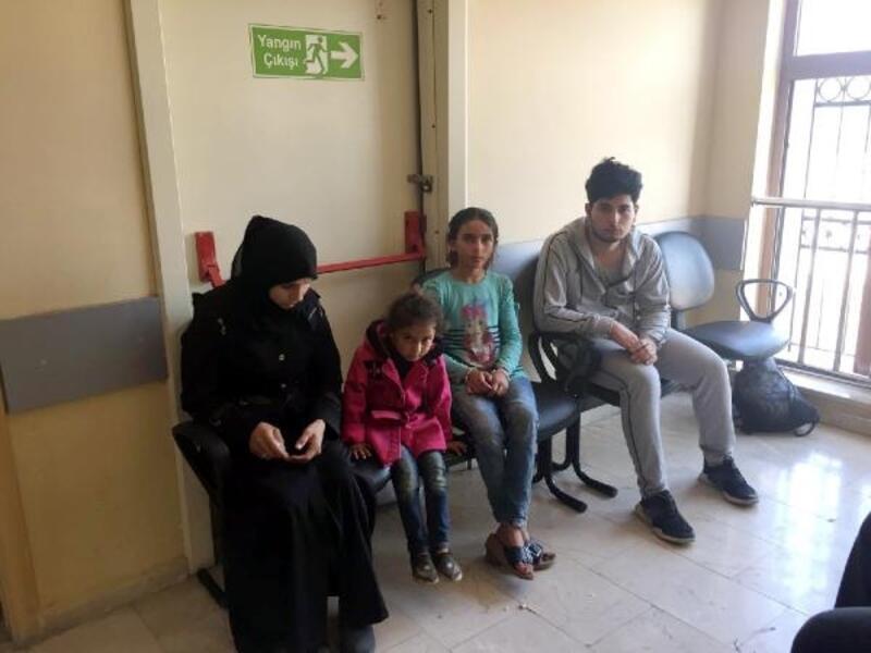 Kırıkhan'da, 10 kaçak göçmen yakalandı