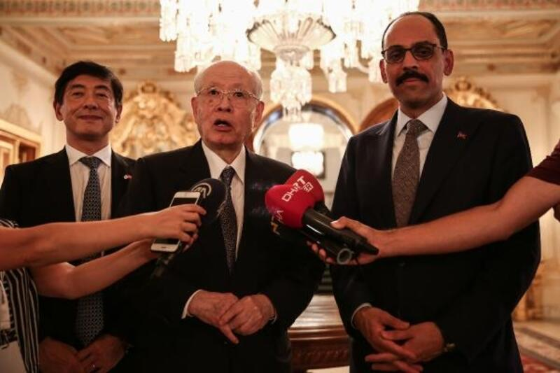 Cumhurbaşkanlığı Sözcüsü İbrahim Kalın Türk -Japon Üniversitesi 1. konsey toplantısına katıldı