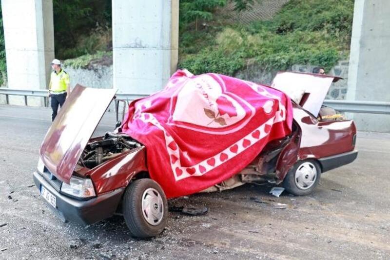 Samsun'da kaza: 1 ölü, 1 yaralı