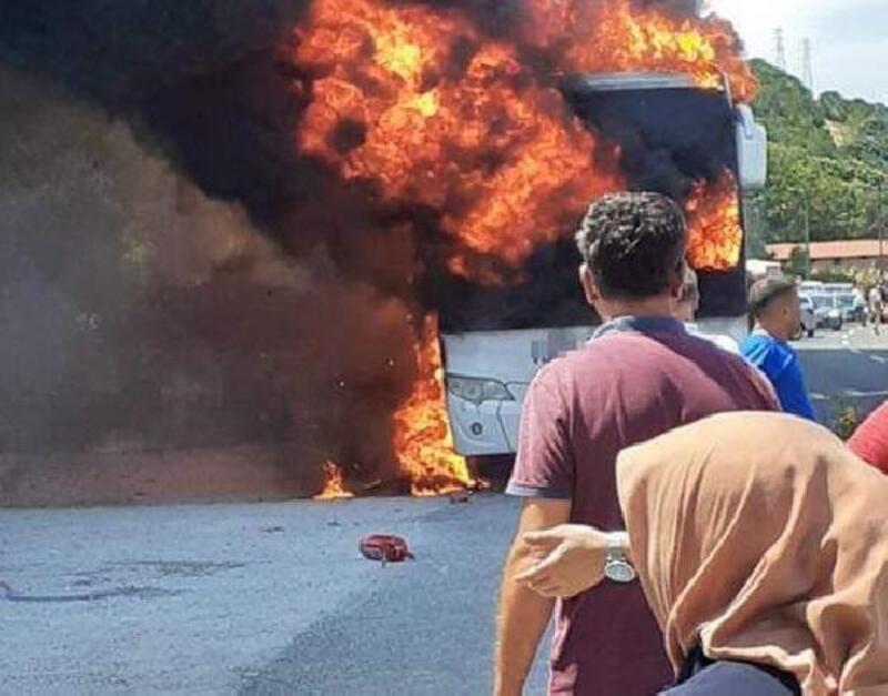 Balıkesir'de otobüs yangınında ölenlerin kimlikleri belirlendi