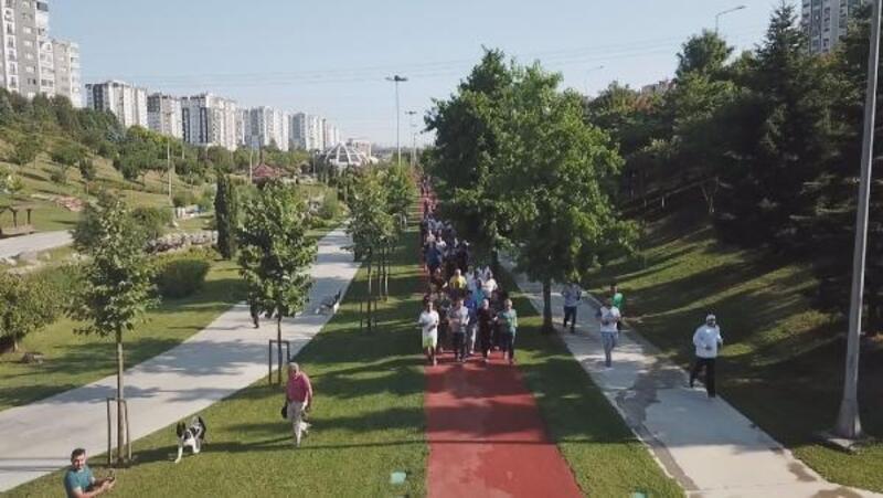 Başakşehir'de 'spor hareketi' başladı