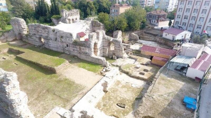Sinop'taki kazıda 1500 yıllık kilise kalıntıları bulundu