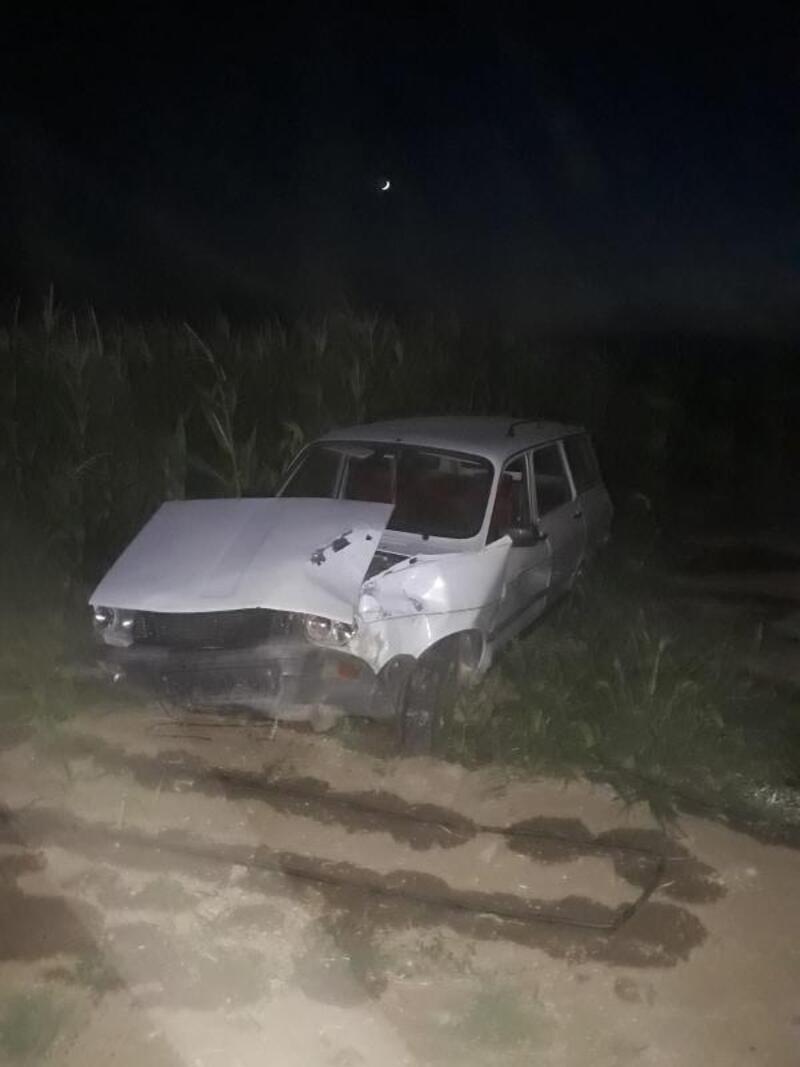 Otomobil, park halindeki otomobile çarptı: 1 ölü, 7 yaralı