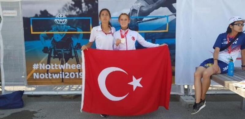 Özel Sporcu Muhsine Gezer ikinci kez dünya şampiyonu