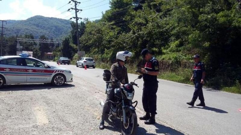 Emniyet ve jandarmadan 81 ilde motosiklet uygulaması