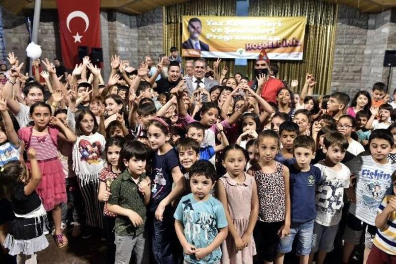 Çocuk Şenliği'nde çocuklar ve aileleri doyasıya eğlendi