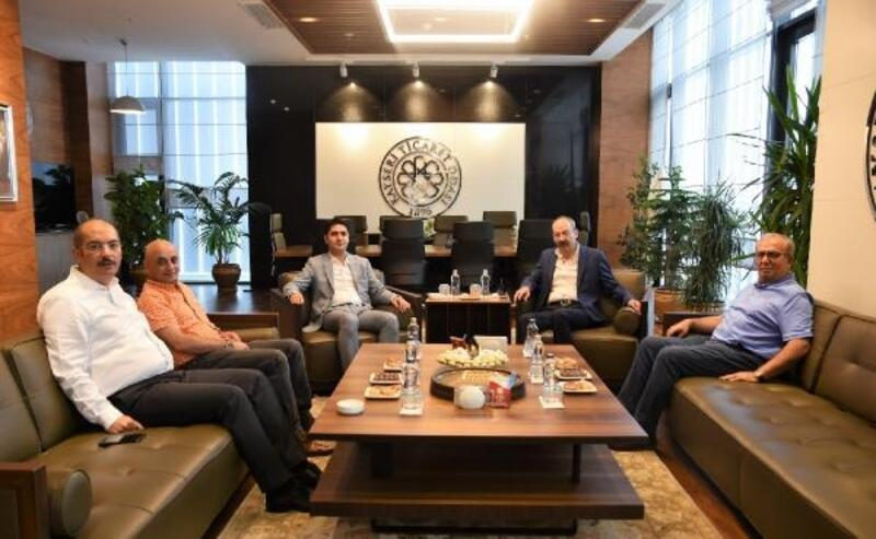 Milletvekili Özdemir'den KTO'ya ziyaret