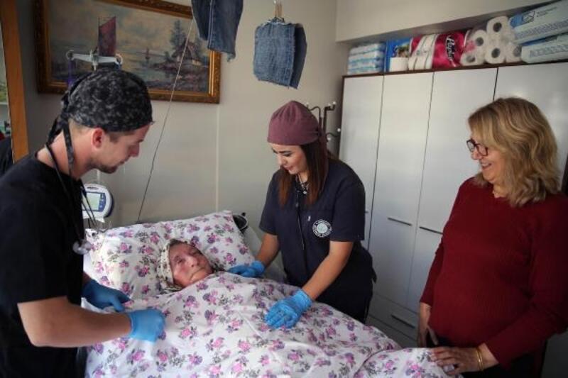 Hasta ve engellilere ücretsiz evde bakım hizmeti