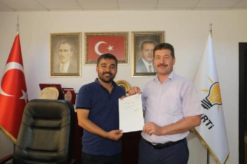 AK Parti ilçe başkanı belediye başkan yardımcısı oldu