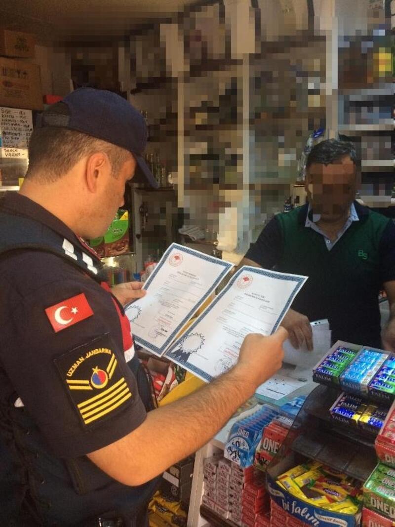Bursa'da 304 jandarmadan kaçak içki baskını