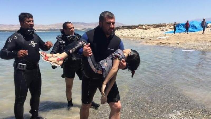 Göle giren İranlı kardeşlerden 1'i boğuldu, 3'ü kurtarıldı