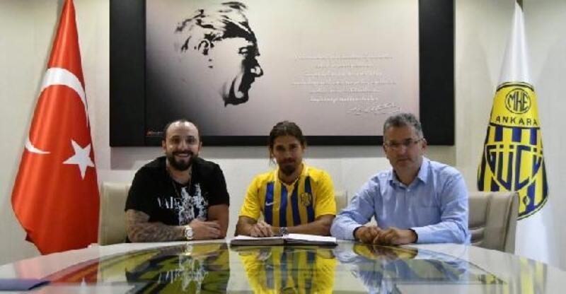 MKE Ankaragücü Pinto ile 3 yıllık sözleşme imzaladı