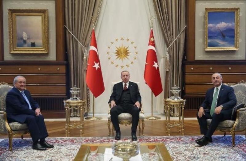Cumhurbaşkanı Erdoğan, Özbek Bakan Kamilov'u kabul etti
