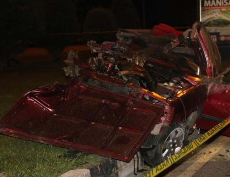 Takla atan otomobilden fırlayan kişi öldü, sürücü ağır yaralandı