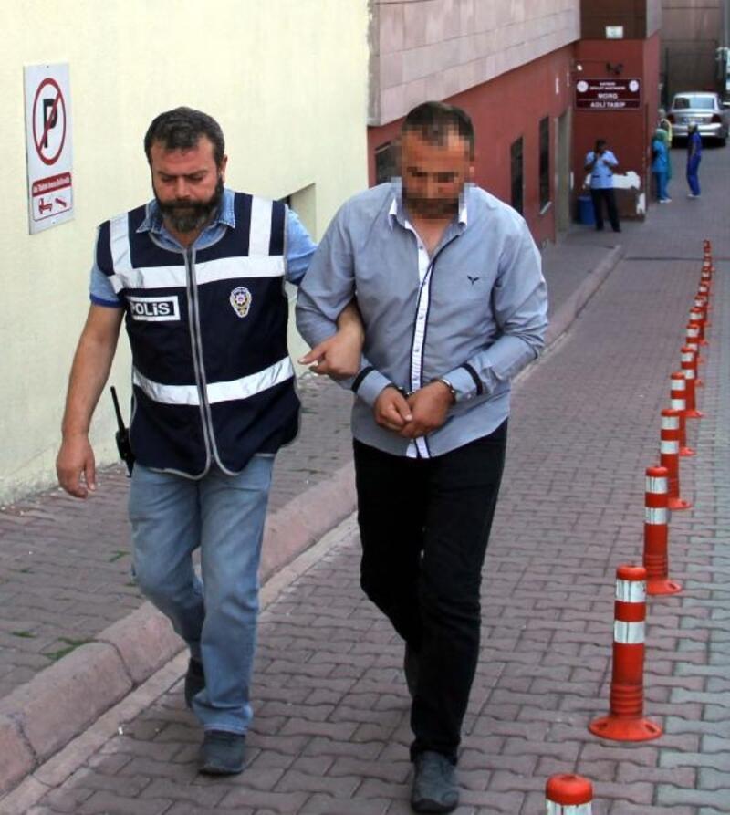 TIR'da yüklü 8 makara bakır teli satan şoför tutuklandı