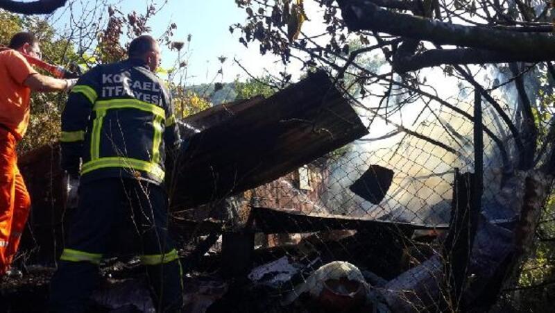 Kestiği otları yakarken ormanı yakıyordu
