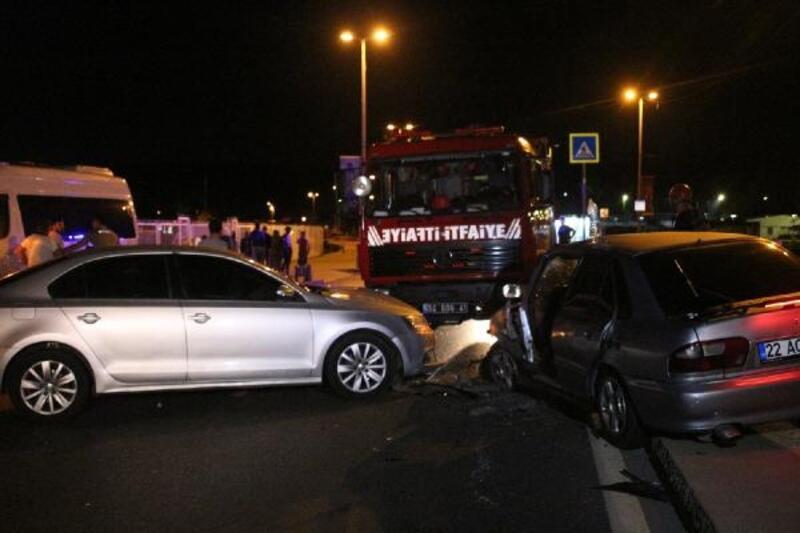 Sarıyer'de trafik kazası: bir ağır yaralı