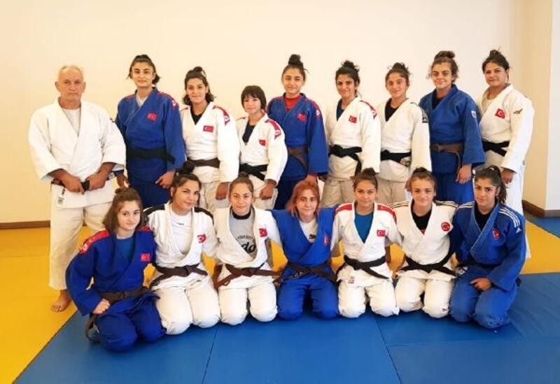 Ümit Kadın Judocular Erzurum'da hazırlıklarını sürdürüyor