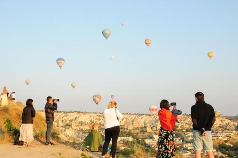 Kapadokya'yı ziyaret eden turist sayısı 2 milyona yaklaştı