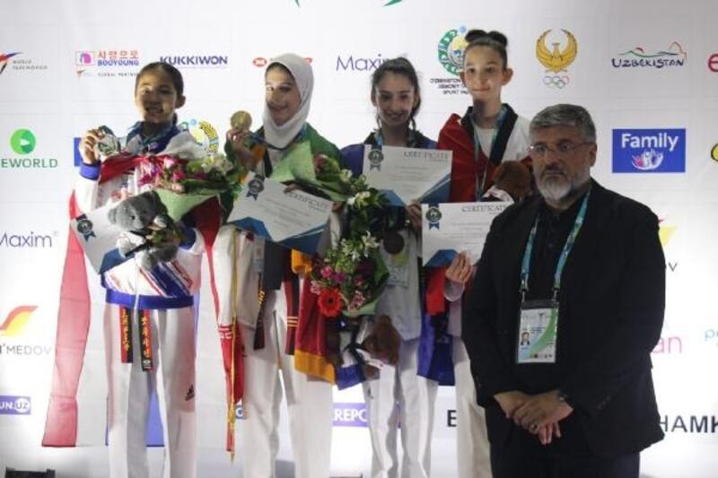 Zeynep Nur Sarıçiçek bronz madalya kazandı