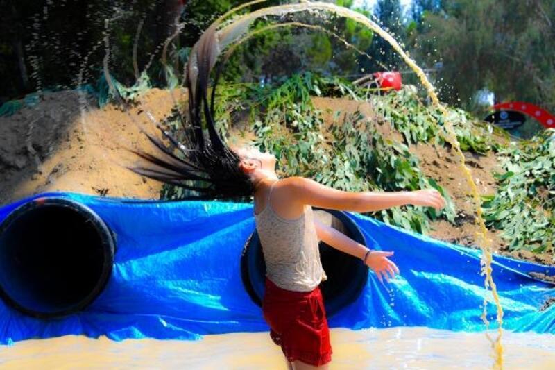 'Çocuklar Toprak ve Su ile Buluşuyor' etkinliği devam etti