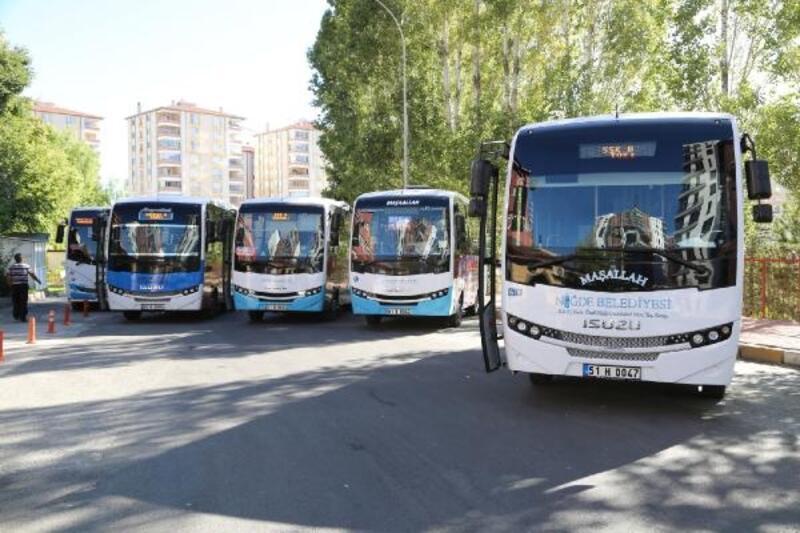 Niğde'de toplu ulaşım bayramın ilk günü ücretsiz