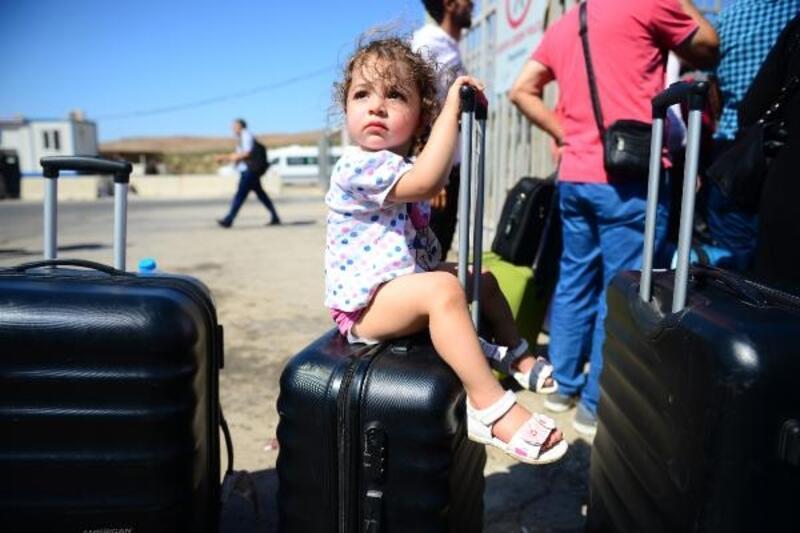 Cilvegözü'nden 38 bin Suriyeli bayram için ülkesine gitti