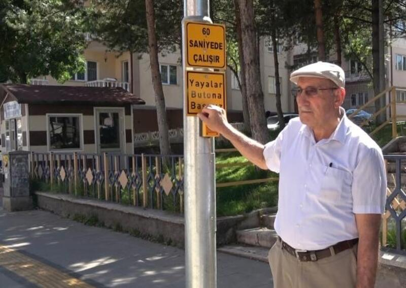 Sivas'ta yayalar için akıllı sinyalizasyon sistemi