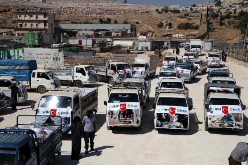 Suriyeli savaş mağduru 3 bin aileye bayram yardımı