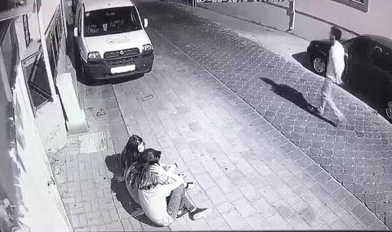 Taciz şüphelisini yalın ayak koşarak yakaladı