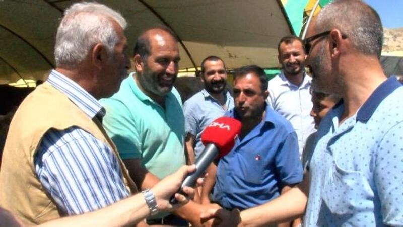 Ankara'da kurban pazarında arife yoğunluğu