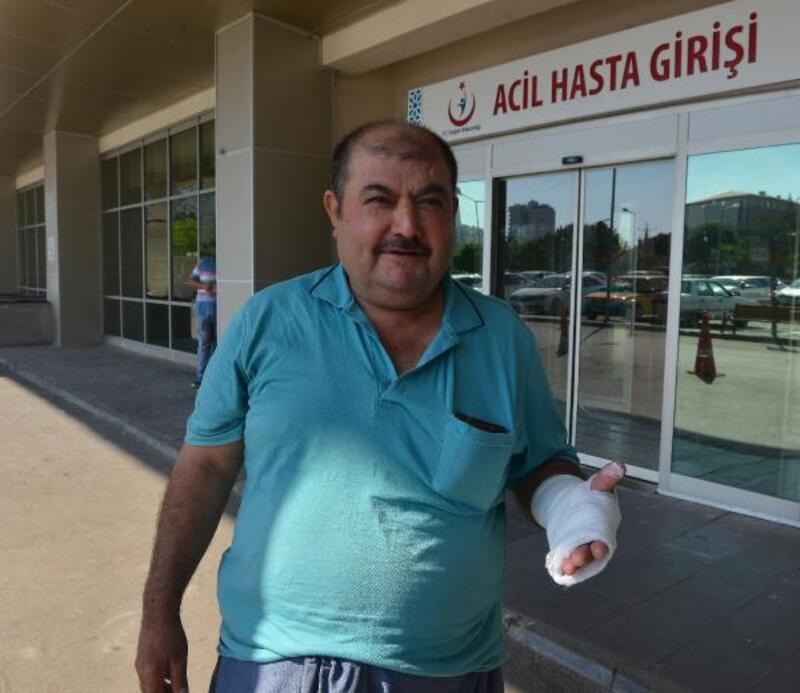 Adana'da acemi kasaplar hastanelere akın etti
