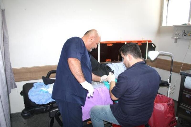 Tokat'ta kurban keserken yaralananlar hastaneye koştu