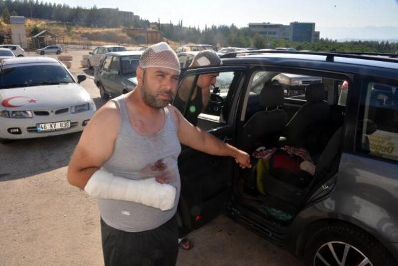 Gurbetçi aileye dinlenme tesisinde saldırı: 12 yaralı, 12 gözaltı